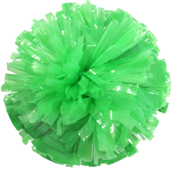 Flourescent Green Pom Pom for Dance and Cheerleading