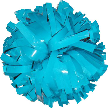 Turquoise Strands for Glitter and Flash Pom Poms