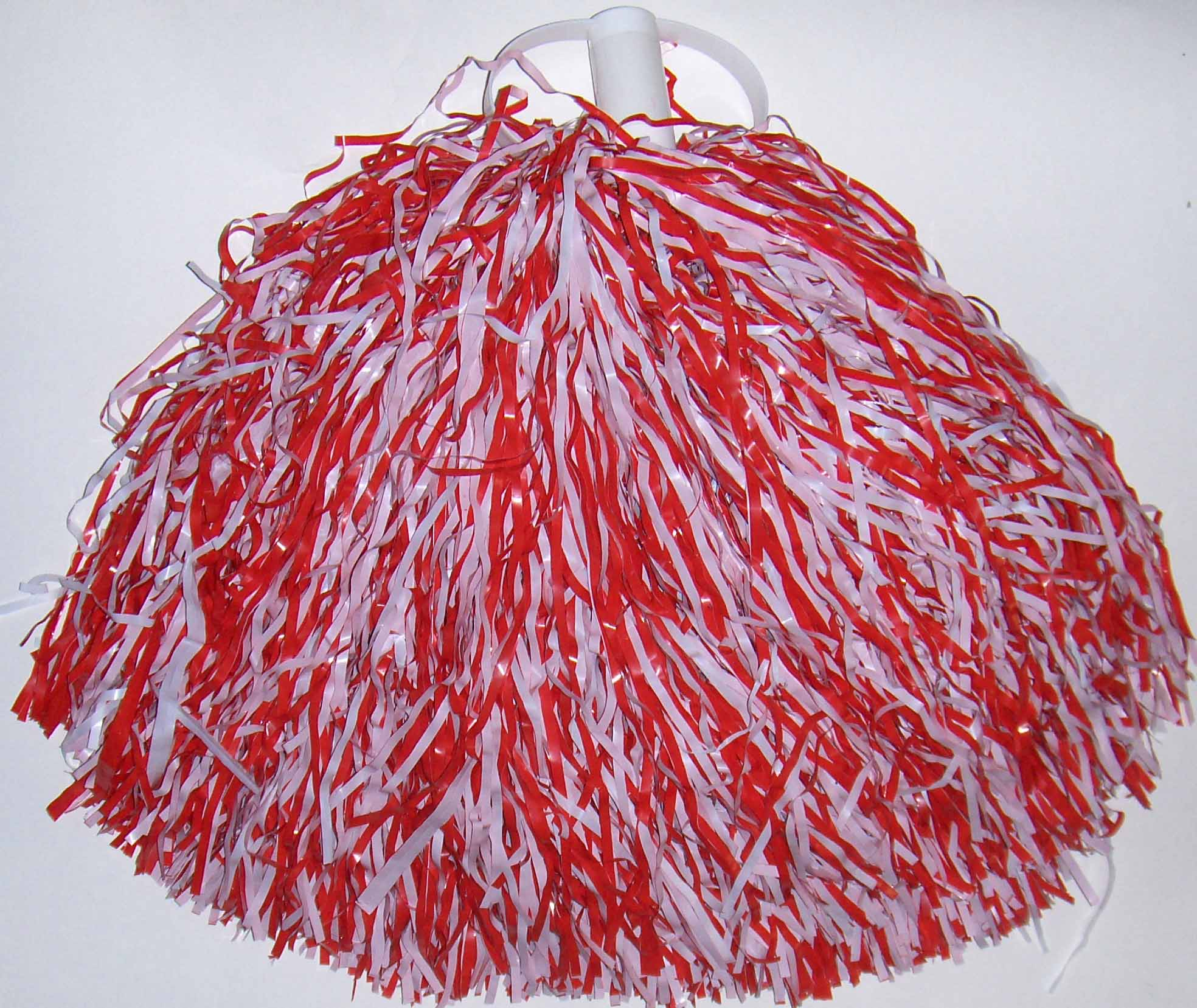 red and white streamer